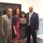 With Pastors James and Catherine Redfern